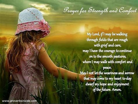 prayers for comfort prayer for strength and comfort signs pinterest