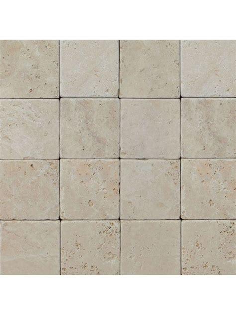 piastrelle in pietra naturale travertino chiaro 10x10 pietra naturale ceramiche roma
