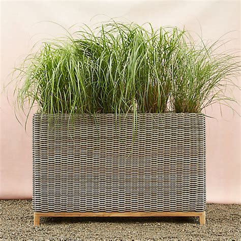 All Weather Planters by All Weather Wicker Deck Trough Terrain