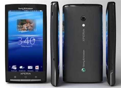 Hp Sony Ericsson Android review handphone baru