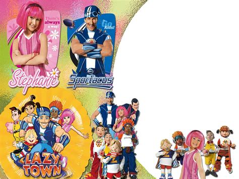 lazy town painting tv show lazytown wallpapers desktop phone tablet