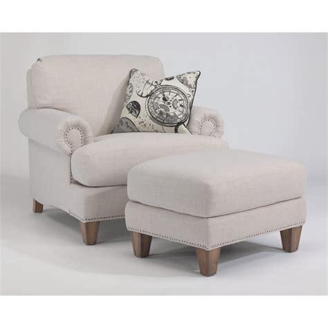 luxury ottomans flexsteel 7308 08 luxury fabric ottoman discount furniture