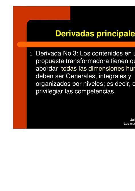 Diseño Curricular Por Competencias Julian De Zubiria Modelos Pedagogicoscontemporaneos Jun2010