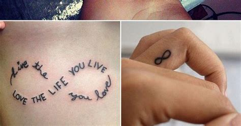 tattoo quotes you won t regret 21 infinity sign tattoos you won t regret getting