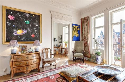 Turn Of The Century Interior Design by Turn Of The Century Apartment With Two Balconies In Sweden