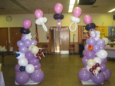 Baby Shower Balloon Arch by Baby Shower Arch Balloon Decorating