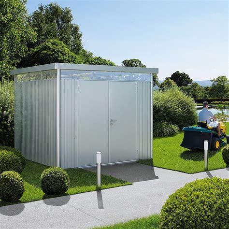 casette in metallo da giardino casette design giardino in metallo con garanzia 20 anni