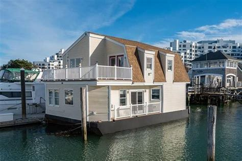 house boating magazine boston s floating house for sale is every boating lover
