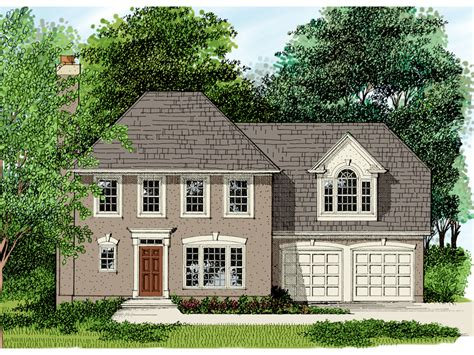 Hip Roof Colonial House Plans Hip Roof Colonial House Plans Escortsea