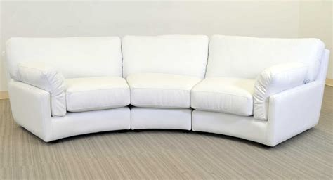 white curved sofa 100 curved white sofa trendy open plan living room