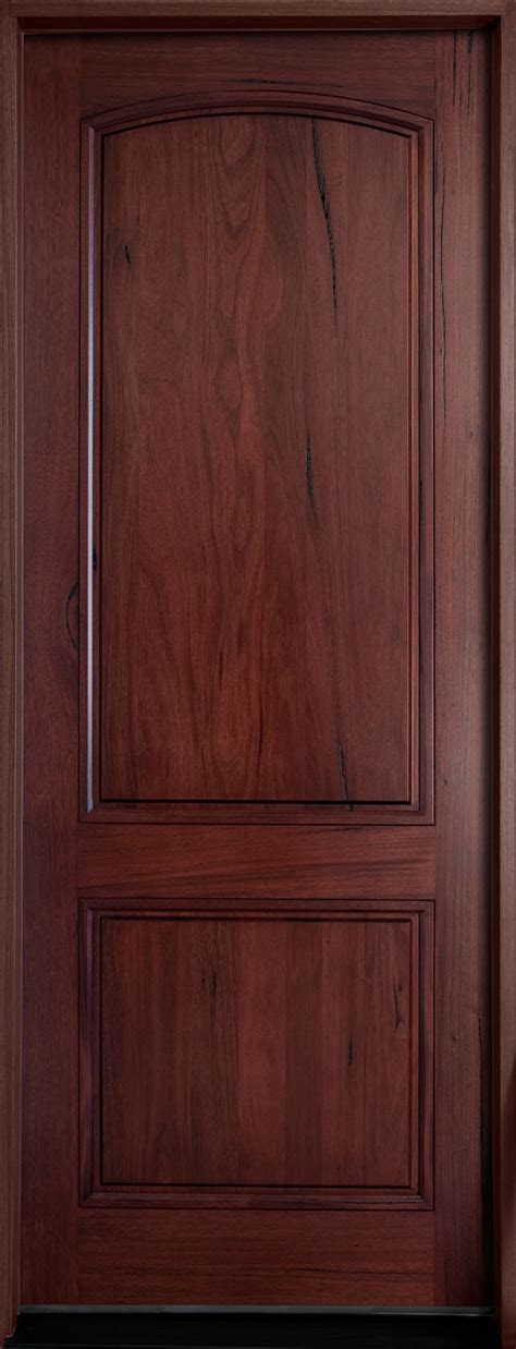 Solid Wood Exterior Door Andean Walnut Collection Entry Doors At Doors For Builders Inc Solid Wood Entry Doors