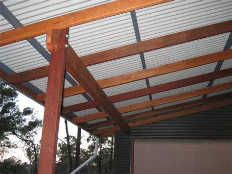 veranda roof verandah roof framing toby whitelaw