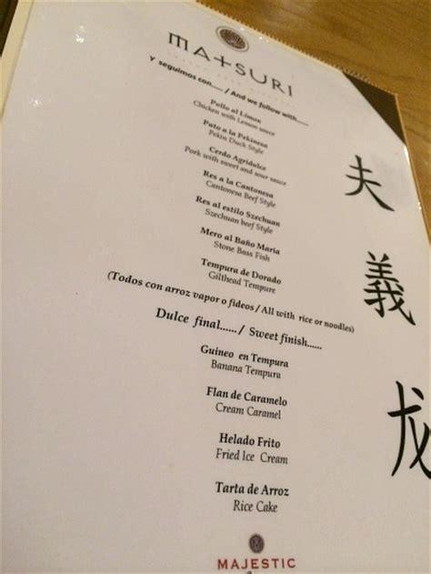 majestic restaurant new year menu resort review majestic colonial punta cana peanut