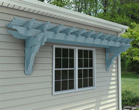 wall pergola kits outdoor goods