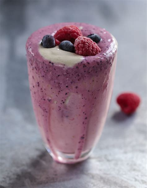Blueberry Raspberry Detox Smoothie by Blueberry And Raspberry Smoothie Keelings