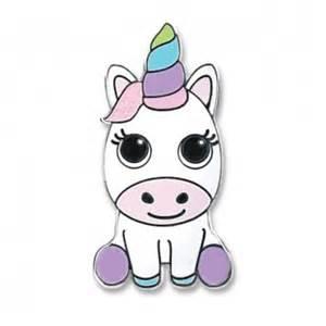 Parkland Flowers - charm it baby unicorn charm sticker
