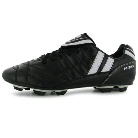 ebay football shoes mens gents attack grain leather sport
