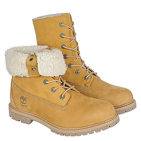 timberland boots with fur timberland auth tedy fleece s fur lined boots