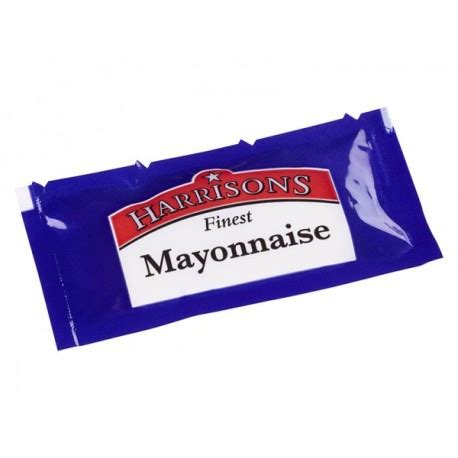 Mayonaise Sachet harrisons mayonnaise sachets 200 savers distributors ltd
