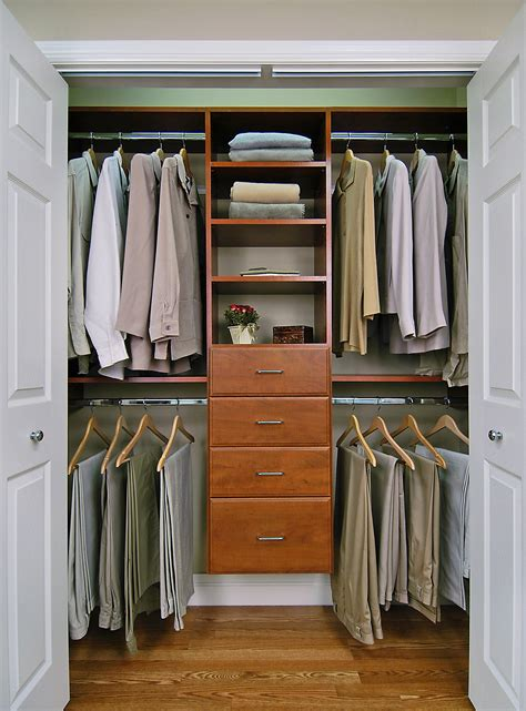 Small Closet Drawers by Custom Closets
