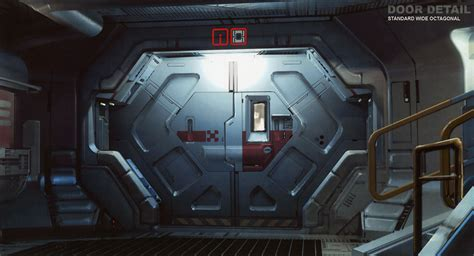 futuristic doors more prometheus concept art revealed prometheus movie