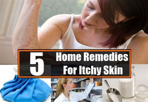 itchy skin home remedies treatments cure