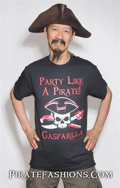 0358 Blouse Xl here be arrrrr an large pirate fashion logo s t