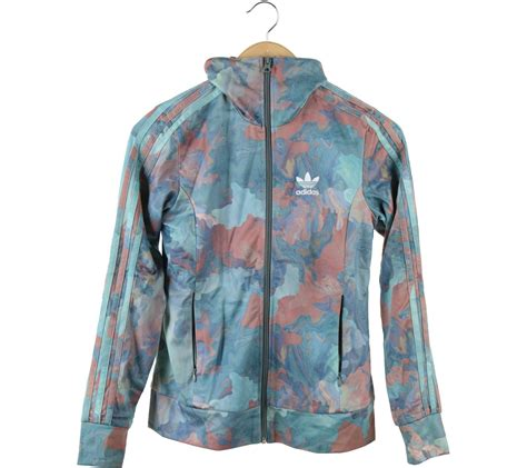 adidas multi colour jaket
