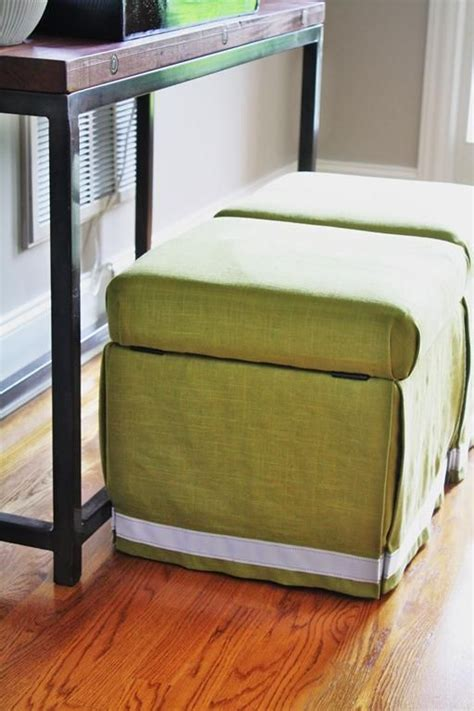 how to reupholster a storage ottoman 17 best images about diy ottoman on pinterest diy table
