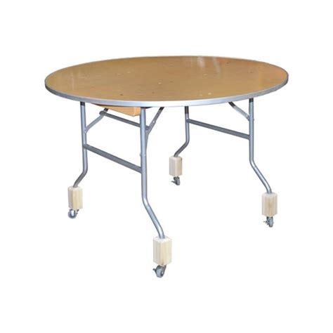 Folding Table With Wheels Set Of 4 Casters For Folding Table