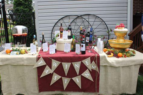 wine themed bridal shower ideas a wine themed bridal shower meg not martha