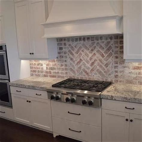 brick tile backsplash kitchen backsplash ideas astonishing brick backsplash tile white