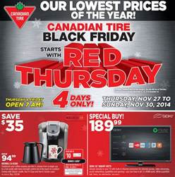 Black Friday Auto Tire Deals Canadian Tire Black Friday Flyer 2014 Flyer