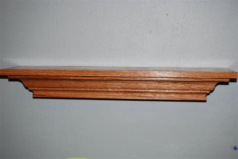 wood by design floating shelf detail and mount