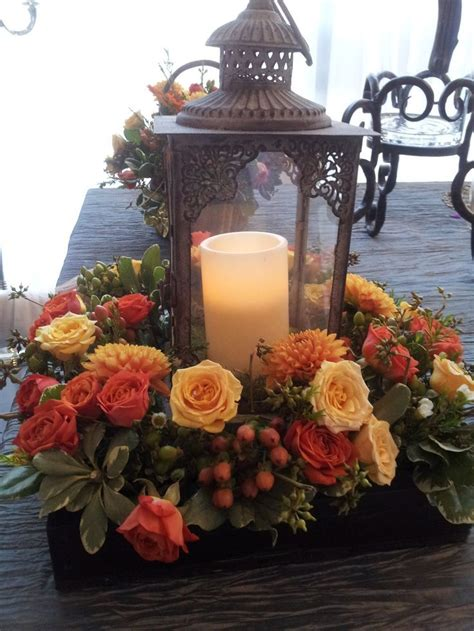 lantern centerpieces 25 best ideas about fall lantern centerpieces on