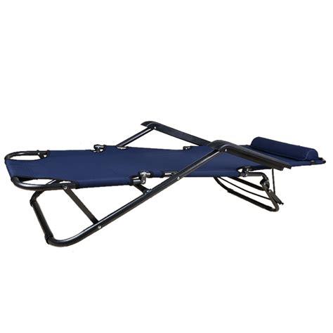 reclining c cot folding sun bed lounge reclining beach chair outdoor
