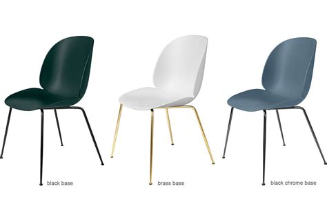 Office Benches Beetle Dining Chair With Conic Base Hivemodern Com