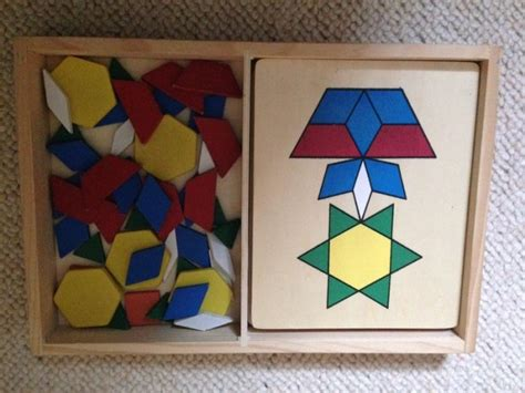 pattern block puzzle games melissadoug pattern blocks and boards puzzles for sale in
