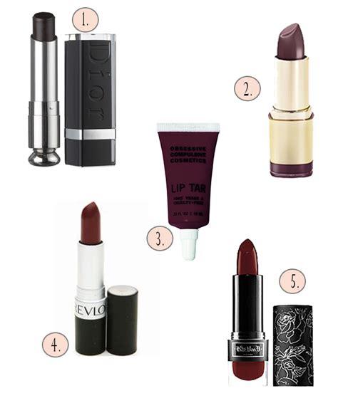 fall 2013 makeup trend burgundy