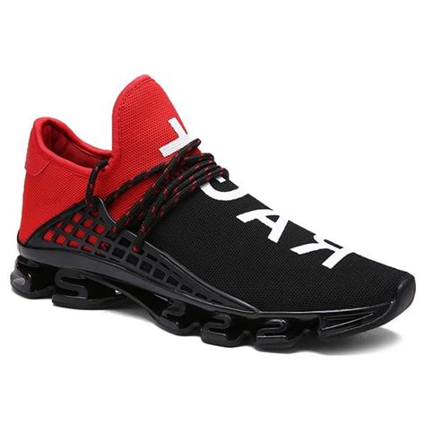 trendy athletic shoes athletic shoes with black trendy letter print and