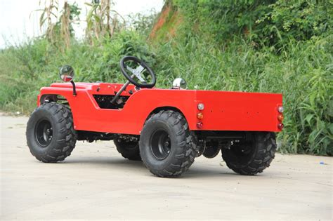 mini jeep atv china zhejiang mini jeep willys 125cc atv bike buy