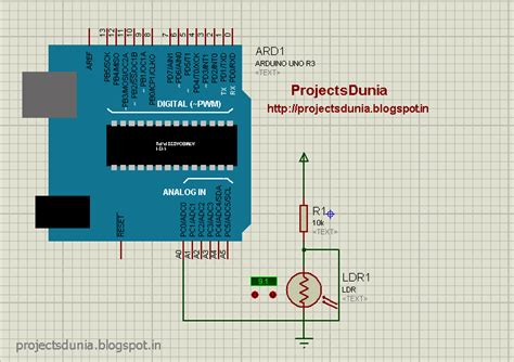code arduino ldr how to interface ldr with arduino projectsdunia