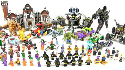 Batman The Lego Batman Collection collection lego batman sets in one new for 2017