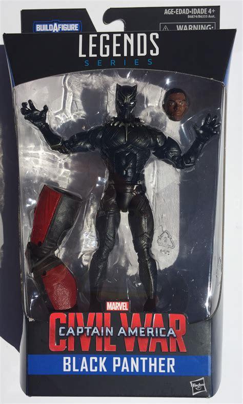 figure black panther marvel legends civil war black panther 6 quot figure review