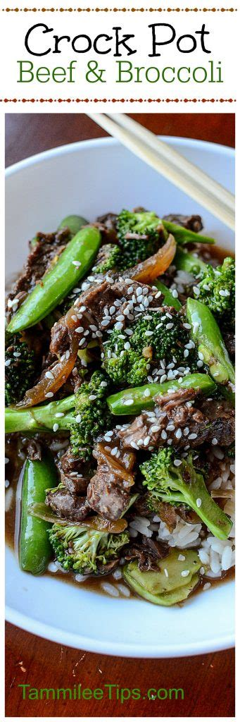 crock pot freezer meals chinese beef and broccoli slow cooker crock pot beef and broccoli recipe tammilee tips