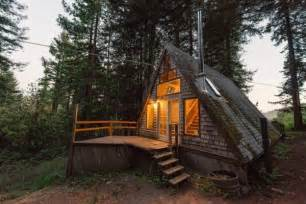 small a frame cabin amazing tiny a frame cabin in the redwoods