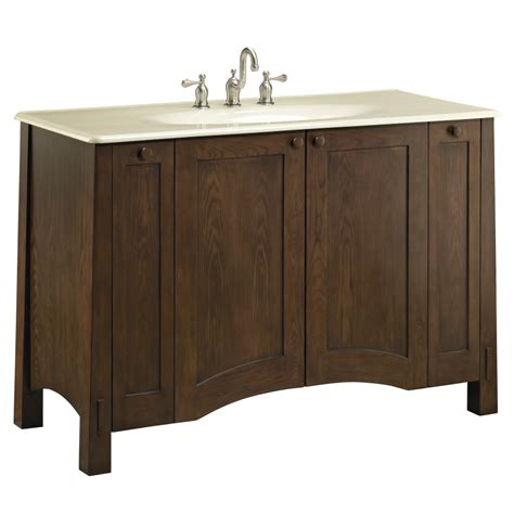 lowes 48 bathroom vanity shop kohler westmore westwood traditional bathroom vanity