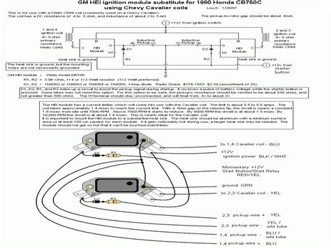 5 pin gm hei ignition module wiring diagram 5 wirning