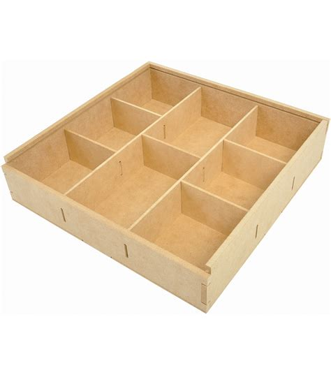 kaisercraft beyond the page divided storage box