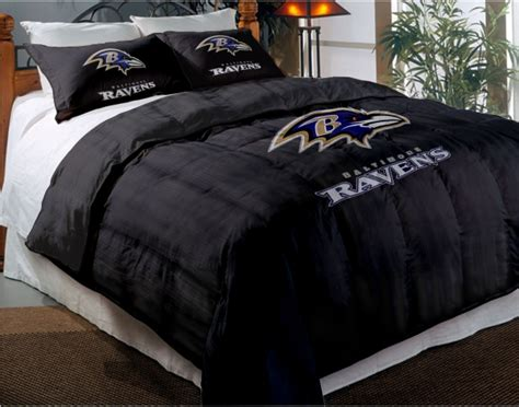 baltimore ravens nfl twin chenille embroidered comforter